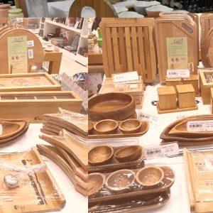 İzmir Özdilek AVM Bambu Mutfak Gereçleri