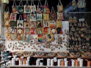Şirince Köyü Hediyelik Eşya Çarşısı