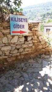 Şirince Köyü Dimitros Kilisesi Nerede ?