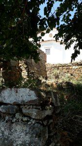 Şirince Köyü Dimitros Kilisesi Bahçesi