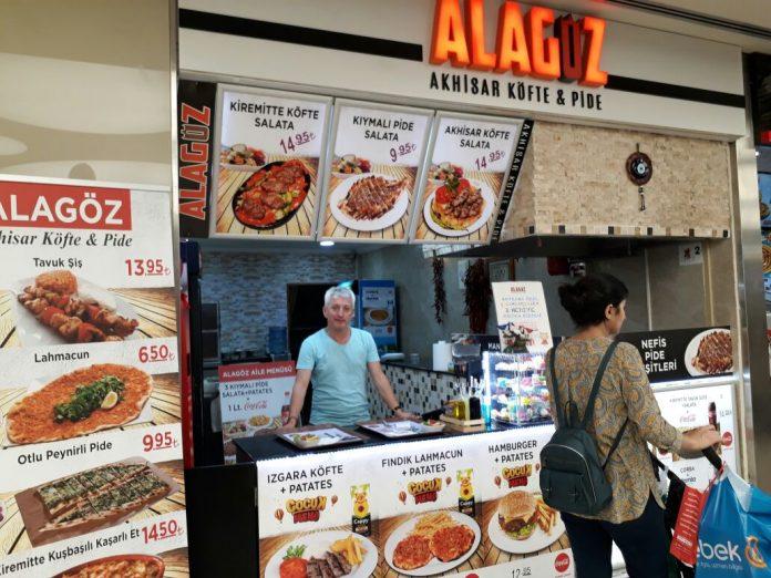 Alagöz Akhisar Köfte ve Pide Salonu - İzmir Park AVM