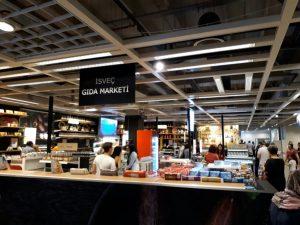 ikea izmir isveç gıda marketi var mı?