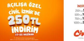 İzmir Civil Nerede, Nasıl Gidilir