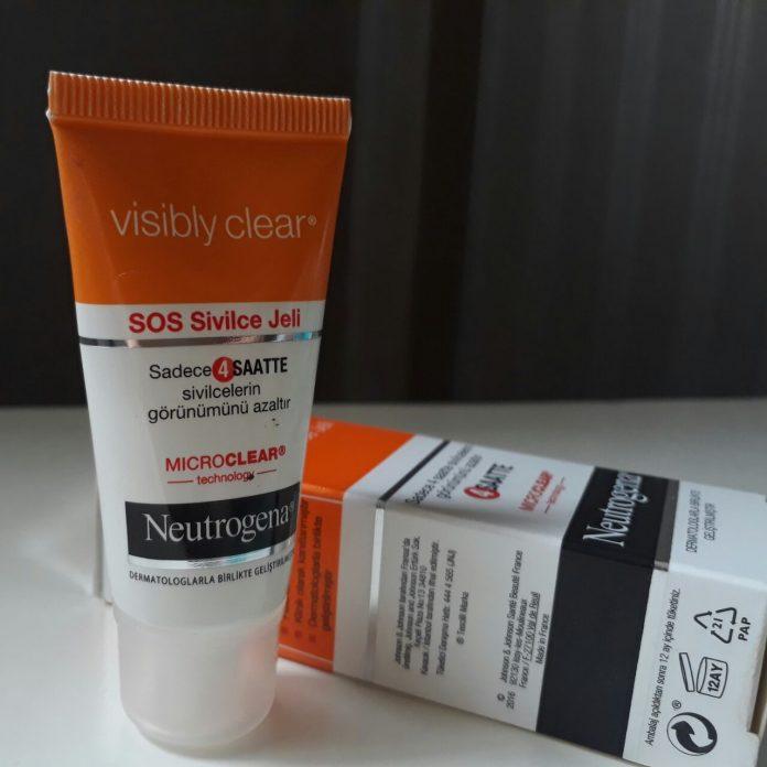 Neutrogena Visibly Clear Sos Sivilce Jeli Nasıl Kullanılır ?