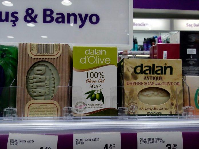 Dalan Zeytinyağlı Antik Sabun Serisi