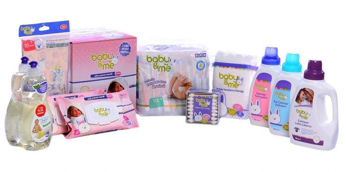 Baby&Me ürünleri Kullananlar Hijyene Önem Verir