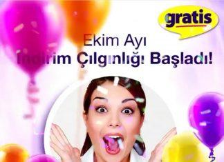 Gratis'ten Dev Cumhuriyet Bayramı indirimi