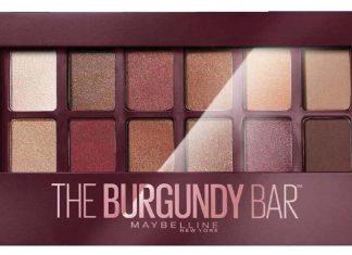Maybelline The Burgundy Bar Far Paleti inceleme konusu