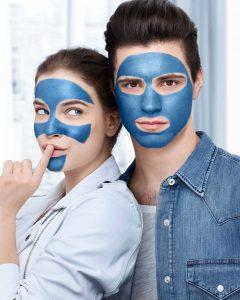 Loreal Mavi Maske Hem Baylar Hem de Bayanlara için