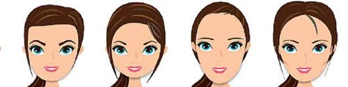 yüz şekline göre saç modeli nasıl olmalı