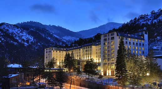 en iyi termal oteller Çam Thermal Resort & Spa / Ankara