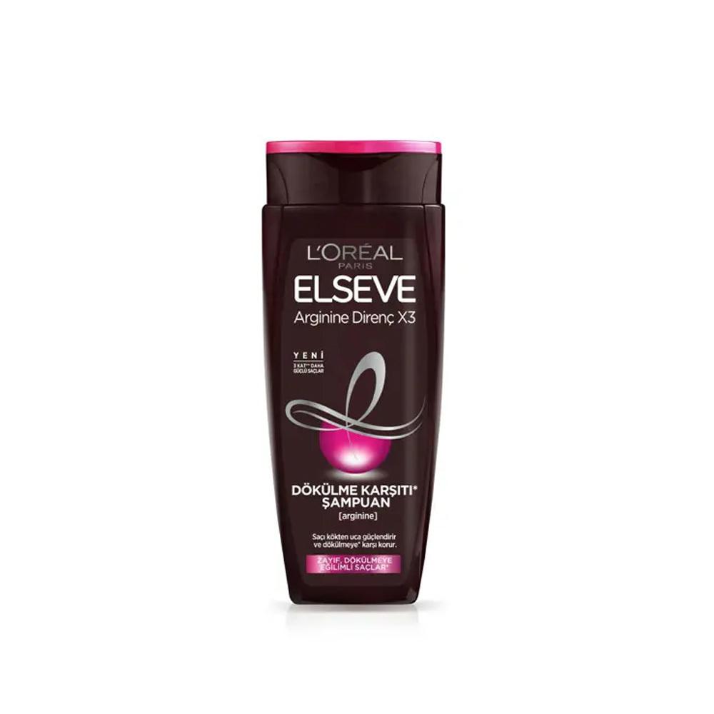 Elseve Arginine Direnç X3 Dökülme Karşıtı Şampuan
