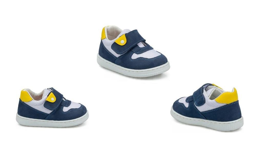 Polaris Çocuk Ortopedik Deri İlk Adım Ayakkabısı