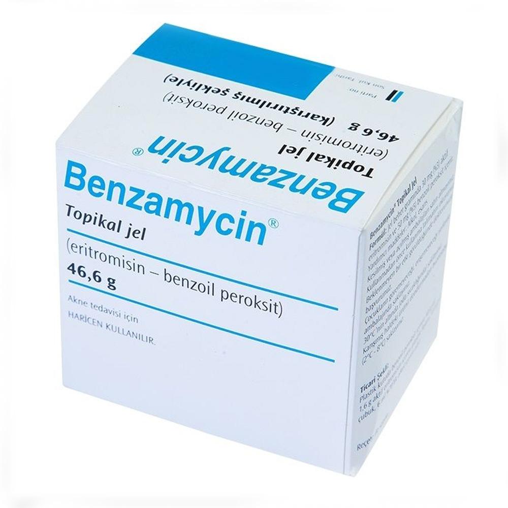 Benzamycin Topikal Jel Sivilce Kremi