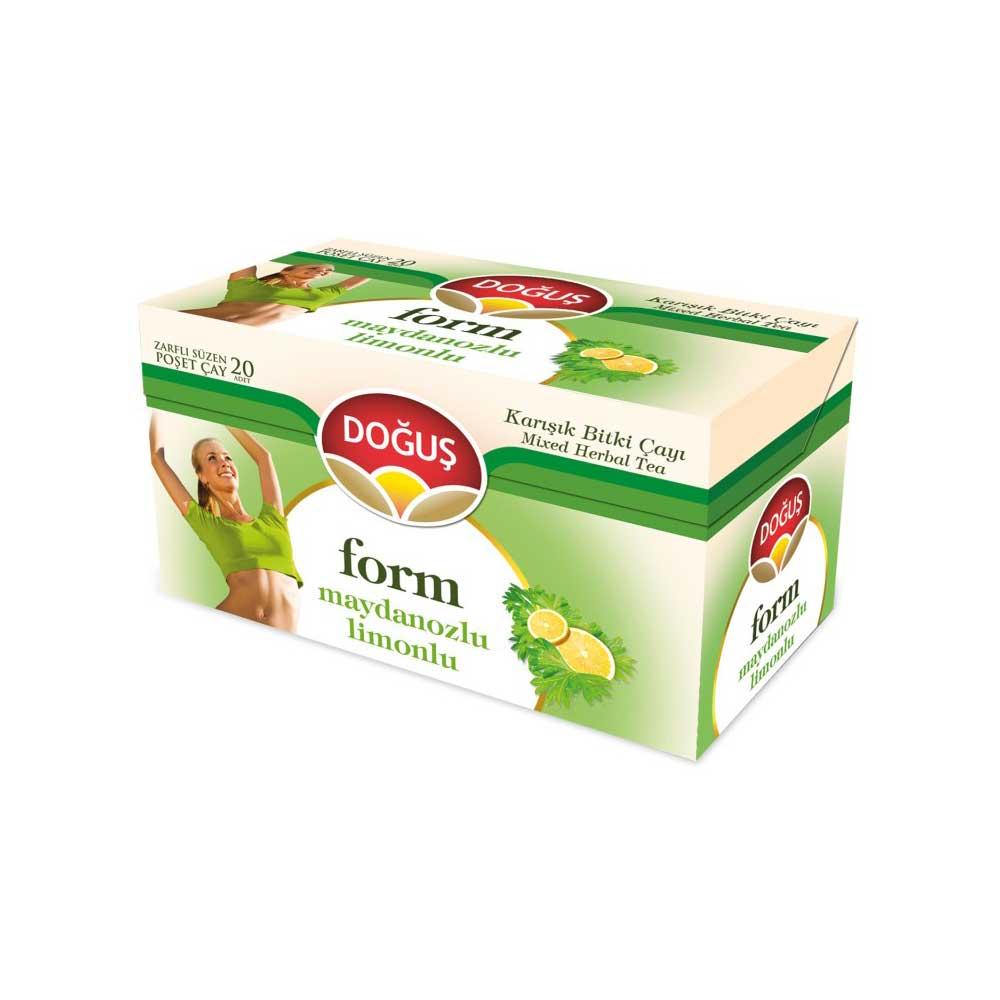 Doğuş Form Çayı Maydonozlu Limonlu