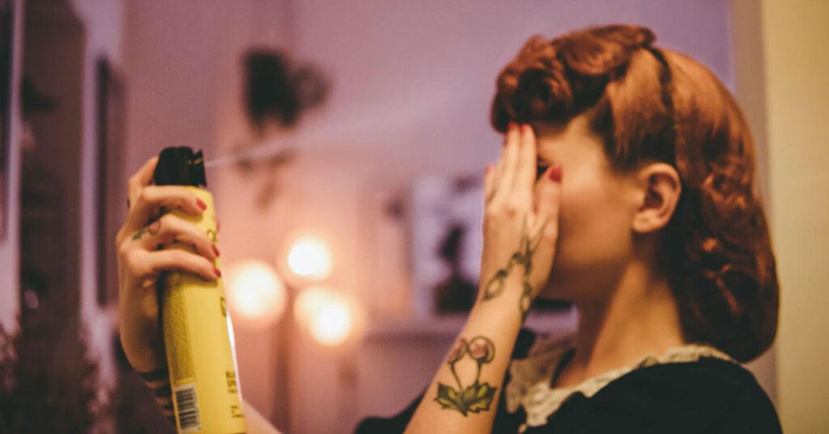 Saç Spreyinin Olası Zararları
